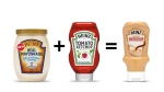 Heinz' new 'Mayochup' sauce combines mayonnaise and ketchup in one bottle. (Heinz Ketchup / Twitter)