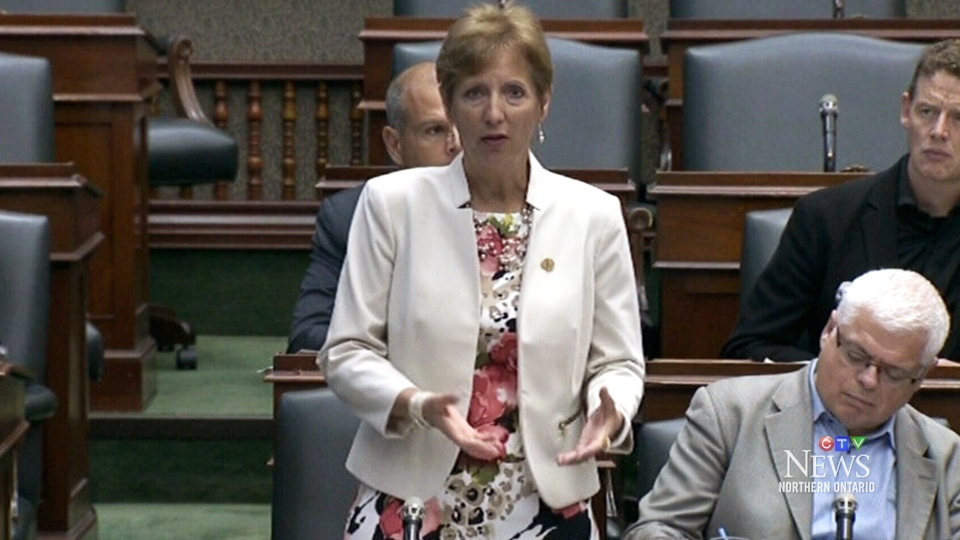 MPP France Gelinas questions time spent on Bill 31