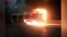 Bus fire aboard OC Transpo bus