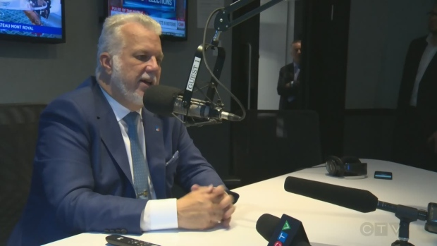 Philippe Couillard was interviewed by CJAD's Andrew Carter on Tuesday Sept. 18, 2018