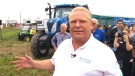 Ont. Premier Doug Ford at the International Plowing Match in Pain Court, Ont., Tuesday, Sept. 18, 2018.