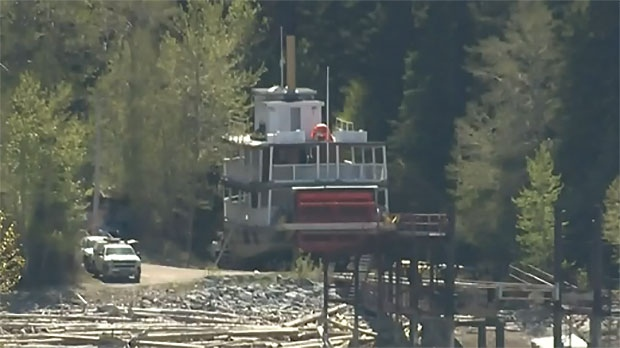 The S. S. Moyie was not operational in 2018 because the water level in the reservoir was impacted by upgrades to infrastructure.