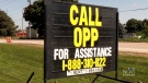 OPP branch still searching for new home after fire