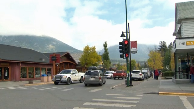 Downtown Canmore (file)