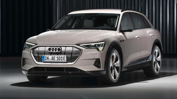 Audi launches electric SUV with help from Amazon