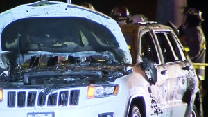 Man injured in Pitt Meadows SUV explosion