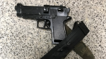 Belt buckle resembling a gun prompts police to contact the man wearing it.