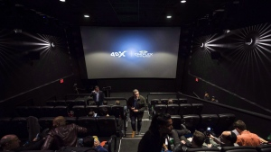Cineplex Inc. says it has signed an agreement with immersive cinema company CJ 4DPLEX Co. Ltd. to bring 4DX technology to 13 cinemas. (Nathan Denette/ The Canadian Press)