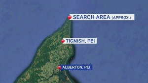 Search underway for missing fishermen off P.E.I.