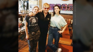 Elton John spotted at Toronto record store