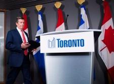 City of Toronto Mayor John Tory