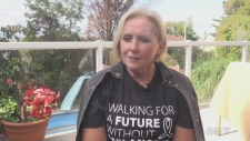 Melanoma survivor inspires walk for awareness