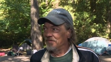 Homeless group moves into West Shore campground