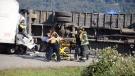 Truck driver killed in Abbotsford crash