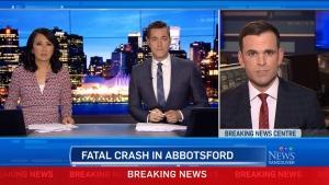 Driver dead in Abbotsford
