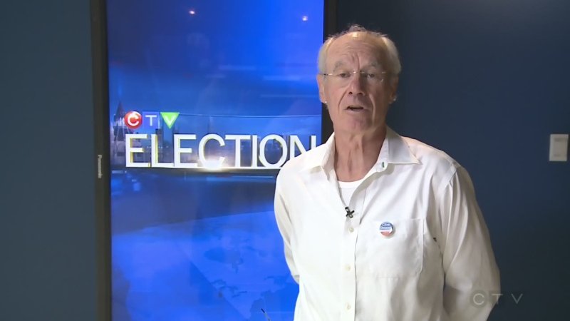 Mayoral candidate Clive Doucet