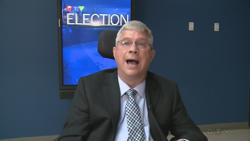 Orléans candidate Guy Desroches