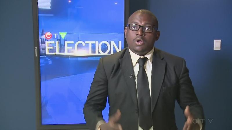 Barrhaven candidate Franklin Epape