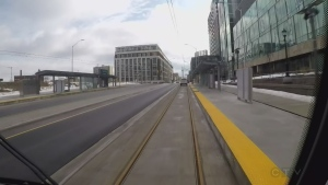 The LRT is scheduled to begin operation in December.