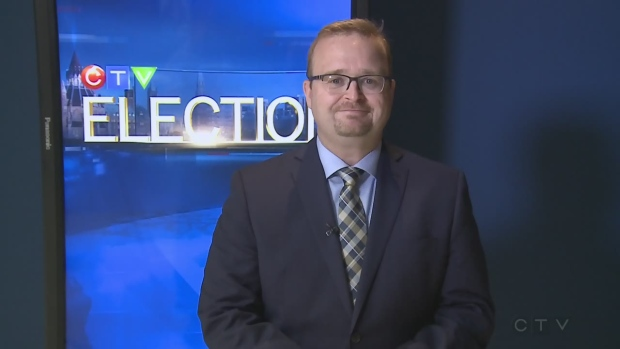 Cumberland candidate Stephen Blais