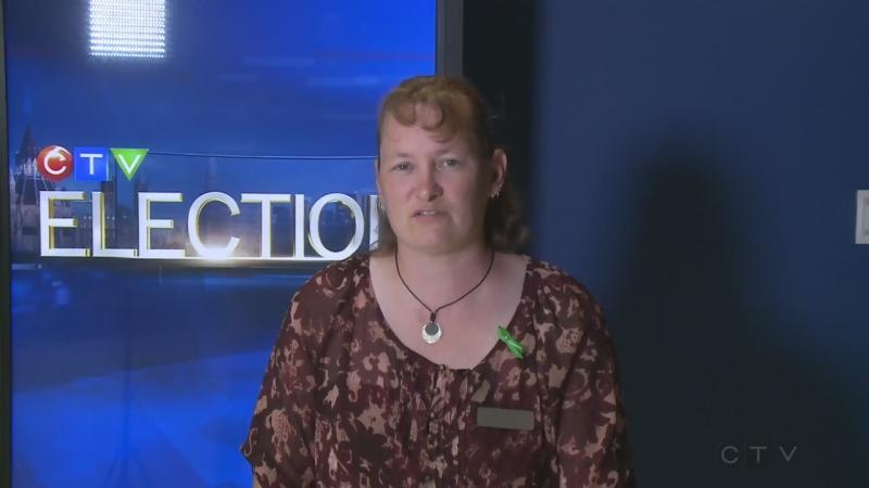 Osgoode candidate Kim Sheldrick