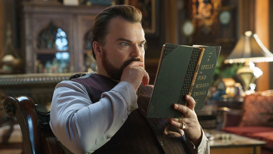 Jack Black in a scene from 'The House With A Clock in Its Walls.' (Quantrell D. Colbert / Universal Pictures via AP)