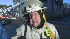 Saint John Fire Chief Kevin Clifford says he's concerned about the safety of his firefighters after responding to another suspicious fire in the city's old north end on Sept. 20, 2018.