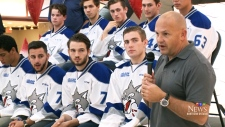 Pep rally kicks off Sudbury Wolves season