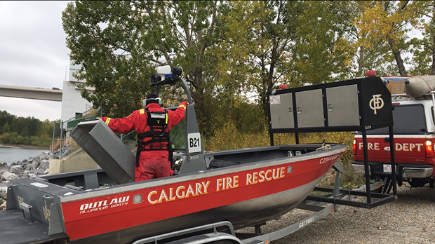 Calgary Police Service, the Calgary Fire Department, RCMP and the Calgary Search and Rescue Association are searching the Bow River to find any missing persons on Thurssday.