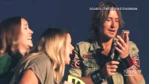 Keith Urban gives nod to Winnipeg biz