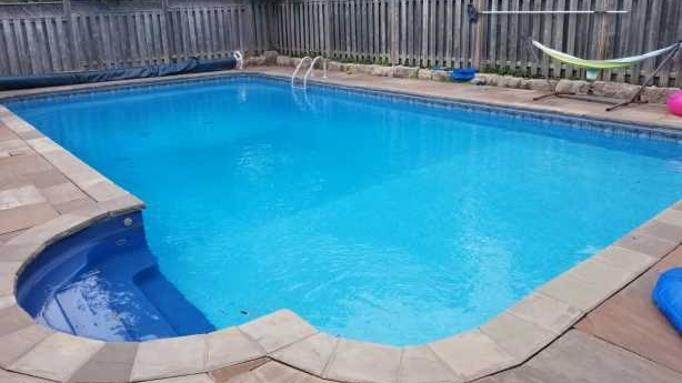 "This pool located in the ""heart of Toronto"" is available for $40 an hour on weekdays. (Swimply)"