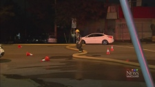 Drivers run over fire hose in East Vancouver