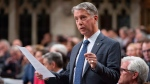 Parliamentary Secretary to the Minister of Foreign Affairs Andrew Leslie reads a motion calling on the government to recognize the actions in Myanmar as genocide following Question Period in the House of Commons Thursday September 20, 2018 in Ottawa. The House of Commons adopted the motion unanimously. THE CANADIAN PRESS/Adrian Wyld