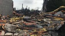 Walkerville warehouse fire