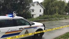 A body was found in a home on Odlin Road in Richmond on Sept. 20, 2018.