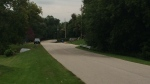 Brock Street in Barrie Ont., was the scene of an alleged attempted murder. (CTV News)