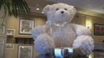 Teddy bear urn