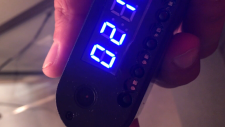 An Airbnb guest says he found a camera hidden inside an alarm clock in his bedroom during a stay in Toronto this month.