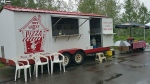 Mobile pizza van stolen