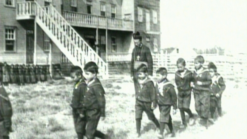 Leaked documents highlighting the discussions of Alberta's curriculum update lean towards deferring the topic of residential schools until later grades. (File)