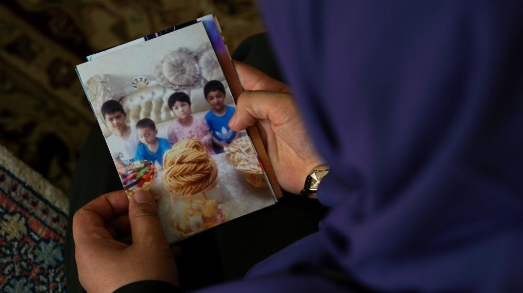 Uighur families