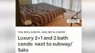Hidden camera allegedly found inside Airbnb