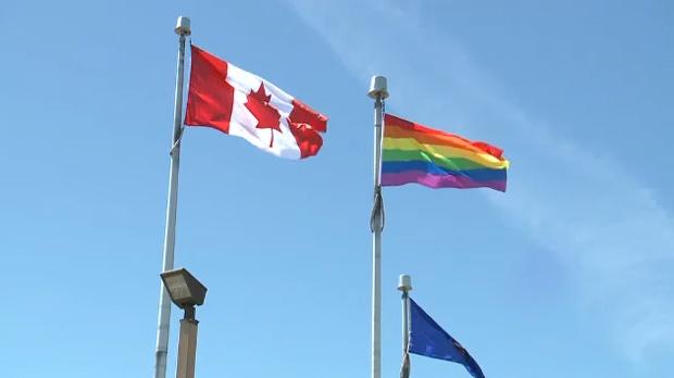 Lethbridge Pride flag