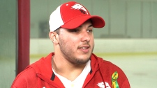 Humboldt crash survivor Kaleb Dalhgren discusses honouring his late coach on Your Morning.