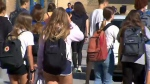 Students walk out over sex-ed