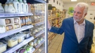Quebec Liberal Leader Philippe Couillard visits a zero waste grocery store and cafe while campaigning, Friday, Sept. 21, 2018 in Montreal, Que. (THE CANADIAN PRESS/Ryan Remiorz)