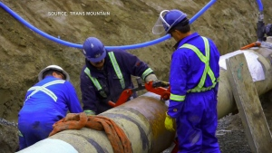 Construction ramping up on Trans Mountain pipeline expansion