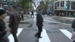 Edmonton pedestrian scramble