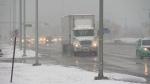 Edmonton summer snowfall