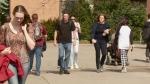 Students at Carleton University.